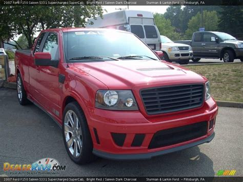 Ford F150 Saleen by Front 3 4 View Of 2007 Ford F150 Saleen S331 Supercharged