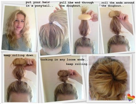 hair donuts instructions hair donut how to how to use a hair donut every girl