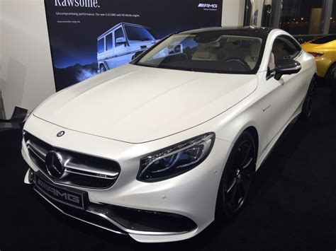 Auto Weis by Mercedes S 63 Coupe S 63 Amg 4matic Coupe Weiss Matt