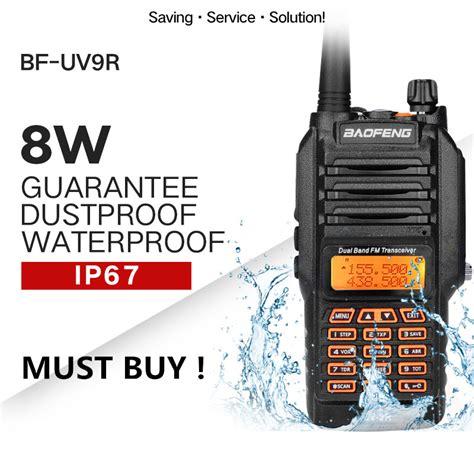 baofeng uv  walkie talkie ip waterproof dual band