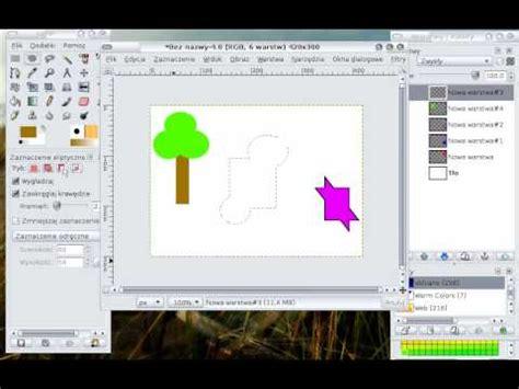 Gimp Tutorial Dla Poczatkujacych | gimp ksztalty warstwy zaznacznie ep2 youtube