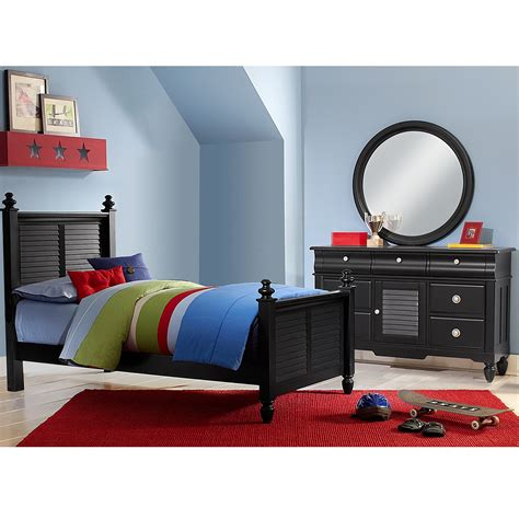 value city kids bedroom sets seaside black 5 pc twin bedroom value city furniture
