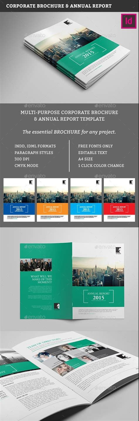 Free Indesign Brochure Templates by 100 Free Premium Brochure Templates Photoshop Psd