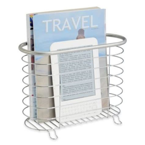 magazine holder for bathroom buy magazine holders from bed bath beyond