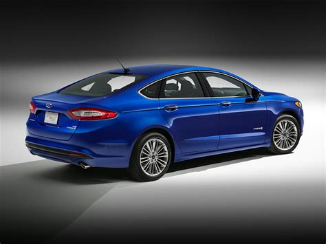 2016 Ford Fusion Prices Reviews 2016 Ford Fusion Hybrid Price Photos Reviews Features