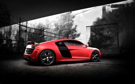 imagenes de vehiculos increibles fondo de pantalla coche audi rojo