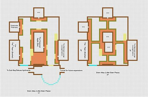 minecraft floor plans modern houses minecraft blueprints architectuur