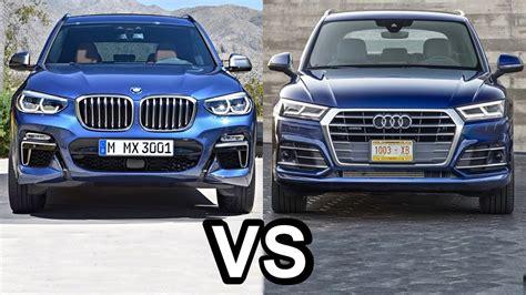 Audi Q5 Vs Bmw X3 2013 2018 Bmw X3 Vs 2018 Audi Q5