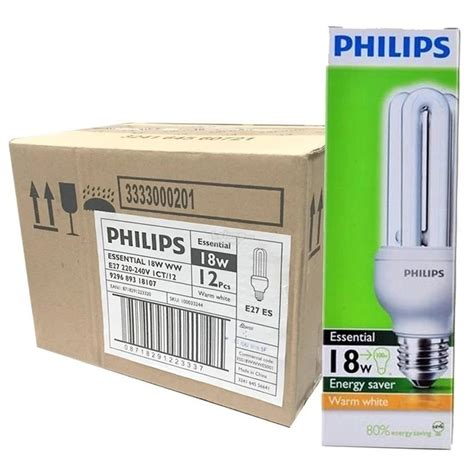 Philips Led Bulb 18w Cdl Putih V 6 pcs philips essential stick bulb 1 end 2 14 2018 3 15 pm