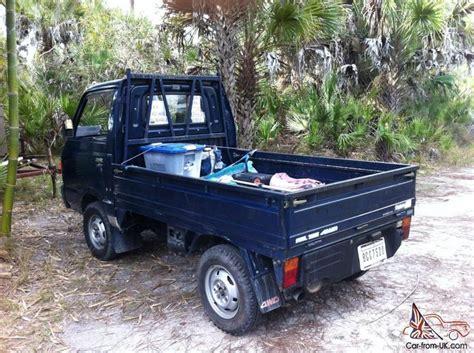 subaru mini trucks 1987 subaru sambar mini truck 4x4 kei japanese up