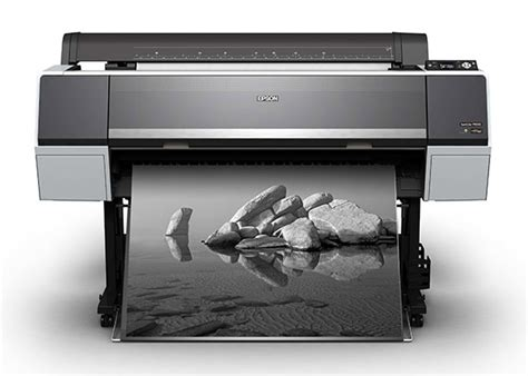Printer Epson P6000 epson s new large format printers blacker than black easier access and less ink waste