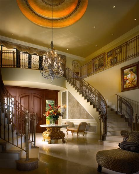 extremely luxury entry hall designs  stairs