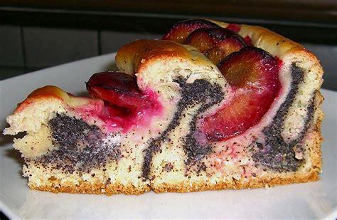 raffinierte kuchen rezepte zwetschgen mohn kuchen rezept mit bild nsalzi