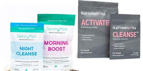 Fox Detox Vs Flat Tummy Tea by Puresafediet Diet Right Way