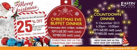 new year dinner promotion penang penang 2015 and new year 2016 promotions at a