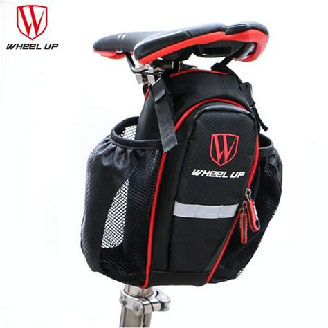 attach seat bike bag wheel upcycling bags can put two water bottle bicycle seat