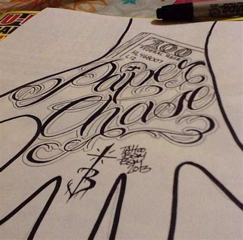 paper chaser tattoo tattoos paper and tattoos and on