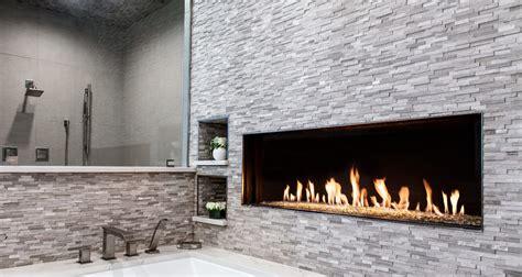 By Fireplace by Flare Front Modern Frameless Fireplace Linear Fireplace