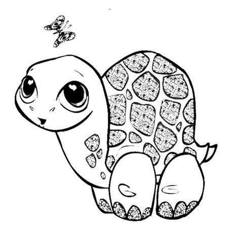 girl turtle coloring page cute turtle coloring pages getcoloringpages com