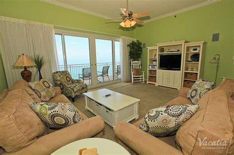 panama city beach 2 bedroom condo rentals two bedroom two bath sterling resorts sterling beach