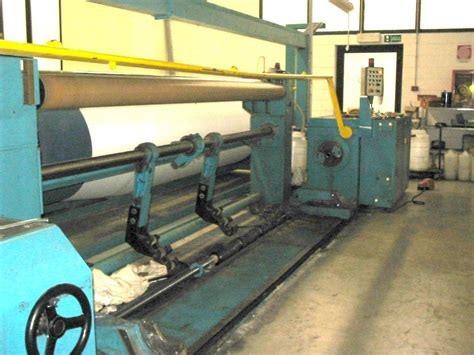 Sectional Warping by Benniger Bentronic Sectional Warping Machine Exapro
