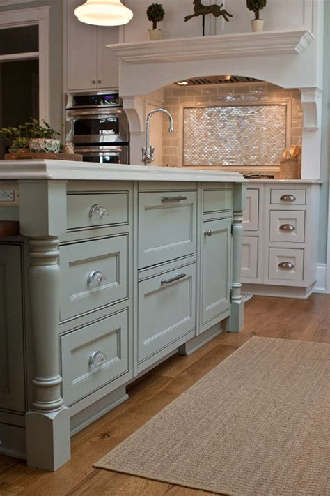 painted islands for kitchens best 20 painted island ideas on pinterest blue kitchen