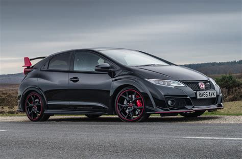 honda civic type r black edition announced autocar