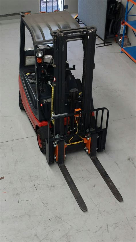 lift truck scales easy installation photos