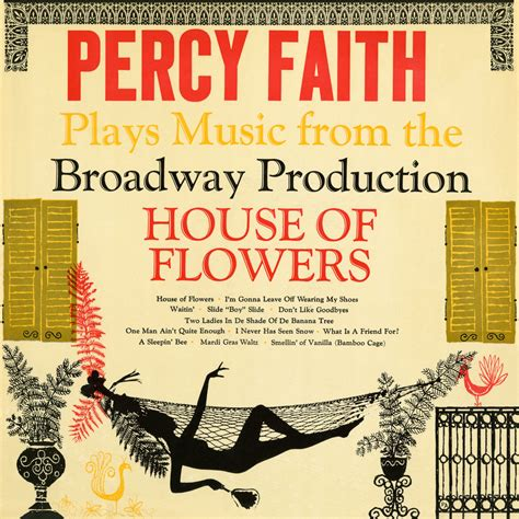 flowers house music plays music from the broadway production quot house of flowers quot