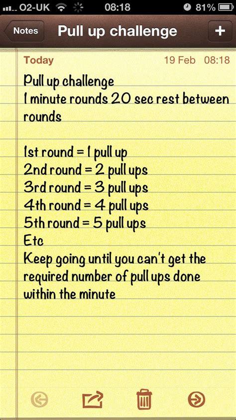 twenty pullup challenge pull up challenge fitness motivation