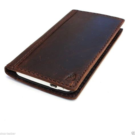 Book Cover Htc One genuine real leather for htc one m7 book wallet