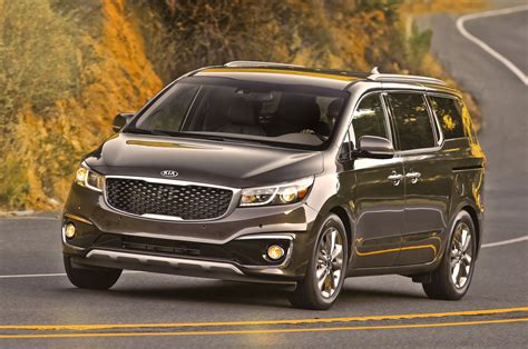 2015 Kia Sedona 2015 Kia Sedona Sxl Test Photo Gallery Motor Trend
