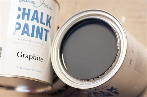 chalk paint graphite getting it on with graphite knot shabby furnishings