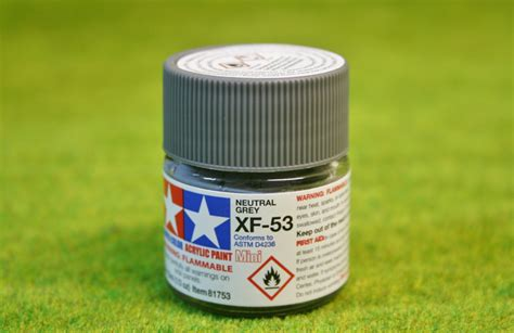 Tamiya Xf 53 Neutral Grey Enamel Paint 10ml tamiya color neutral grey acrylic mini paint xf53 10mls arcane scenery and models