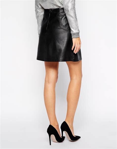 black leather skirts make a comeback tuppence magazine