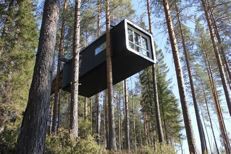 the treehotel in sweden for nature lovers 171 twistedsifter treehotel a grown up childhood escape fantasy in the