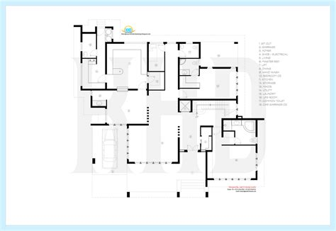 floor plan builder contemporary luxury villa floor plan house design plans