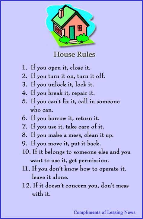 printable house rules poem house rules christopher menkin seeking alpha