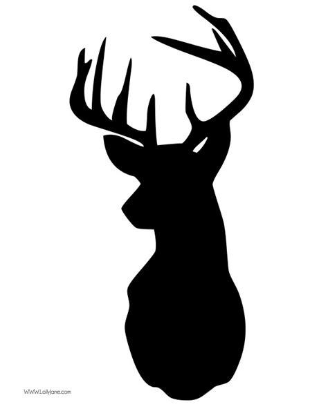 deer head deer clip art silhouette clipart panda free clipart images