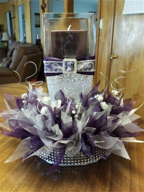 purple and silver wedding centerpiece ideas 1000 ideas about purple centerpiece on