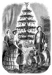blog cabin village o christmas tree