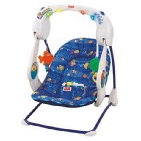 fisher price ocean swing fisher price ocean wonders aquarium take along swing