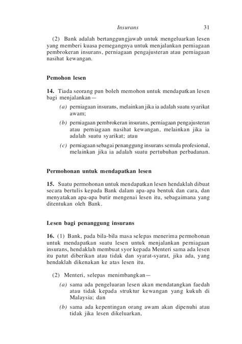 malaysian insurance act akta 553