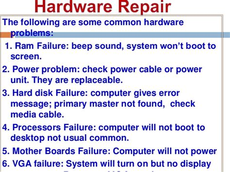 Troubleshooting Power Issues Desktop by Computer Repair And Maintenance