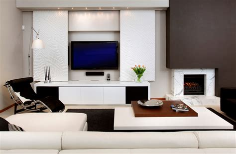 Barsden Street Cottesloe Contemporary Living Room Living Room Furniture Perth
