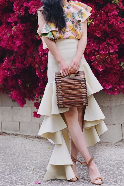 Dsjt1171206179781 Mini Dress Ruffle Dress Zara Pink ruffle one shoulder floral dress tiered skirt hallie daily
