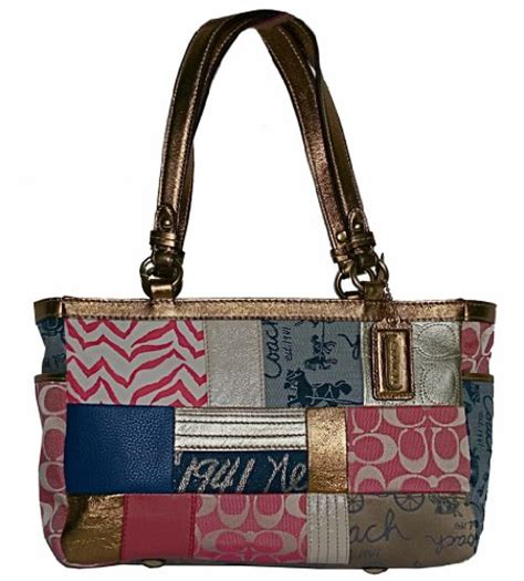 Coach Purse Patchwork - 8 prices coach patchwork purse january 2012