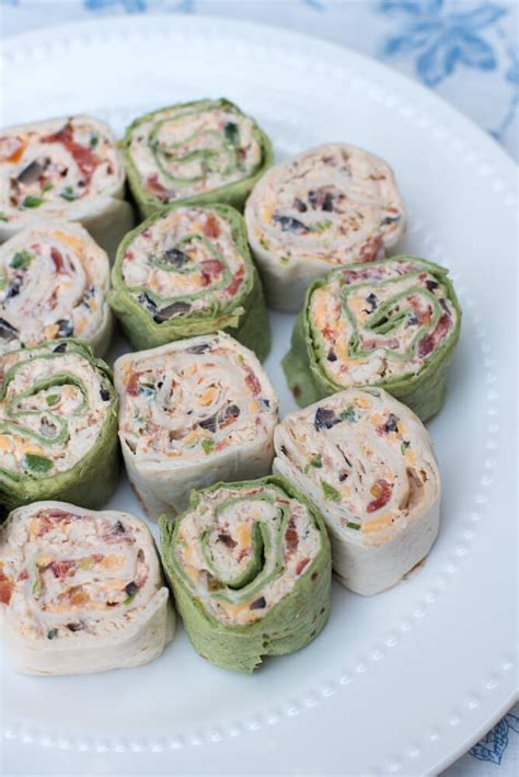 pinwheel recipes southwest chicken tortilla pinwheels