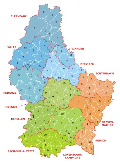 luxembourg map maps of luxembourg map library maps of the world