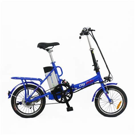 E Bike 36v by 16 Inch 36v Alloy Frame Mini Folding Electric Bike